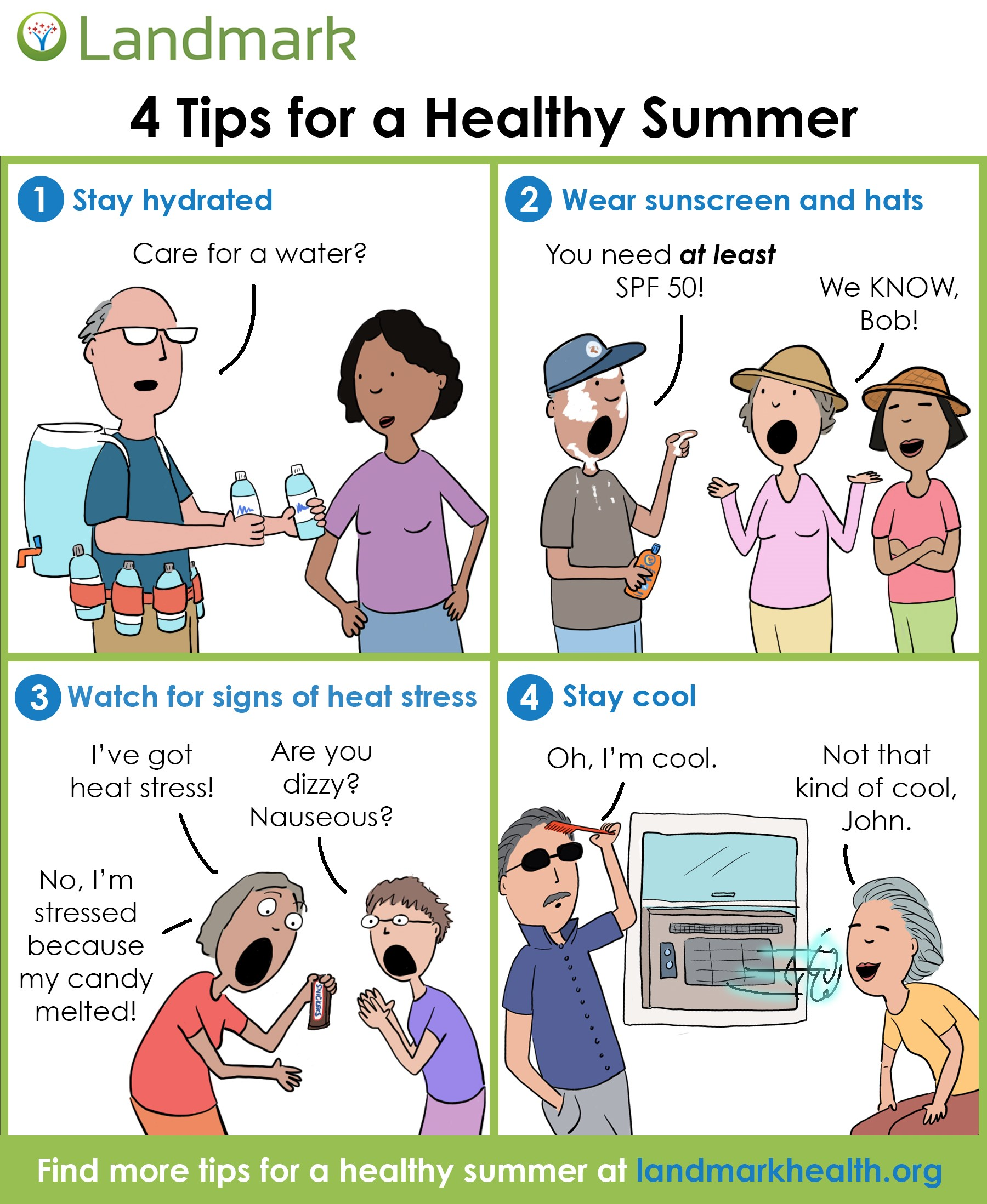 Tips to Stay Safe in Summer Months - Landmark Health