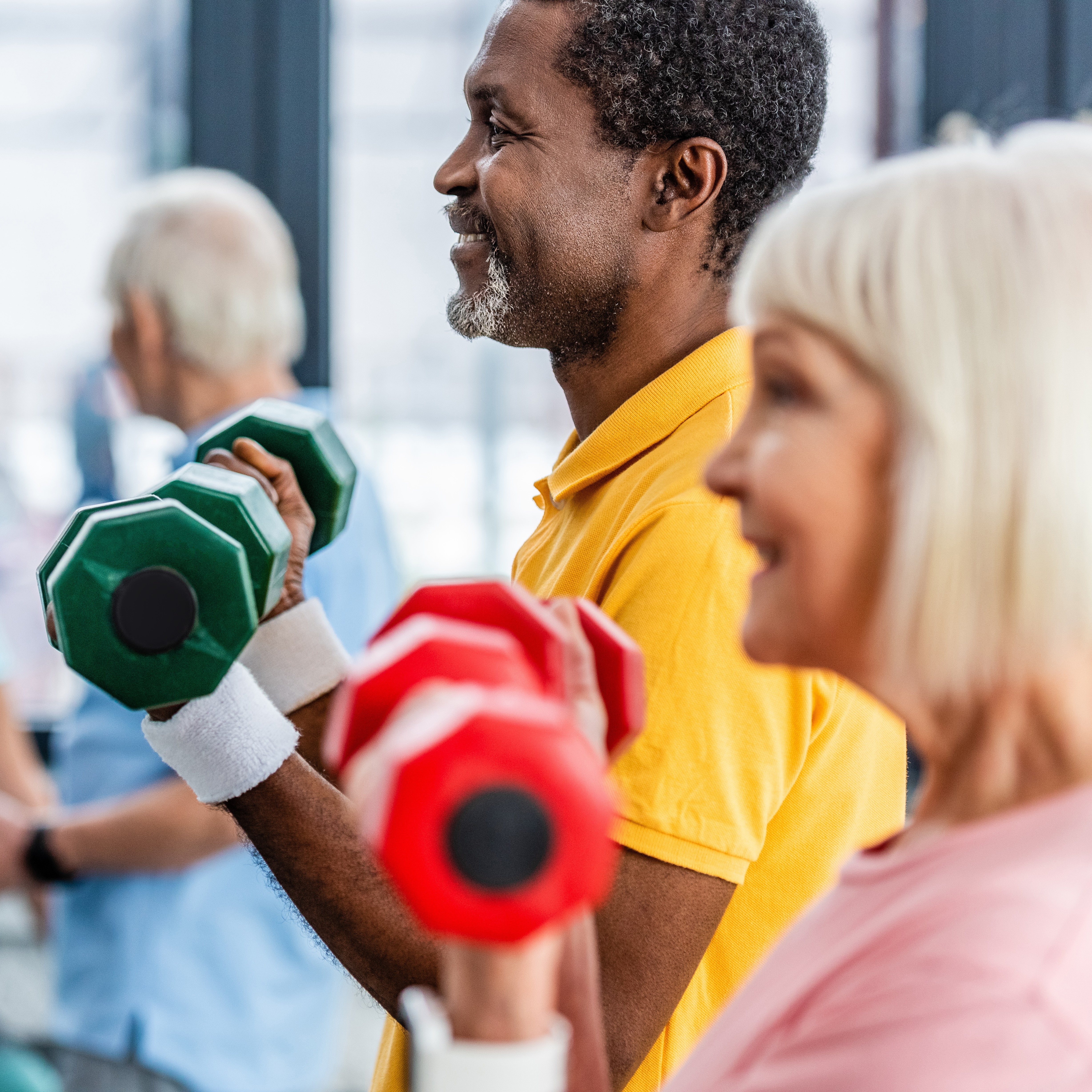 Healthy Nutrition and Exercise Plans for Seniors image