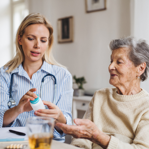 The future of health care for seniors is in the home.  image