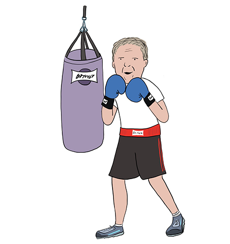 Boxing Training to Help Fight Parkinson's Disease image