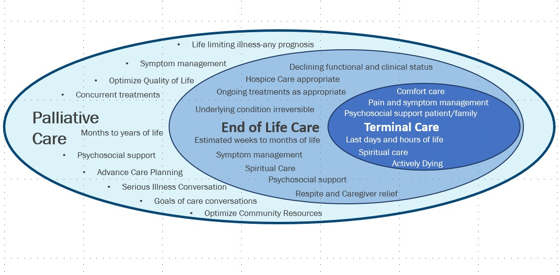 What is palliative care at home? What is included in palliative care?