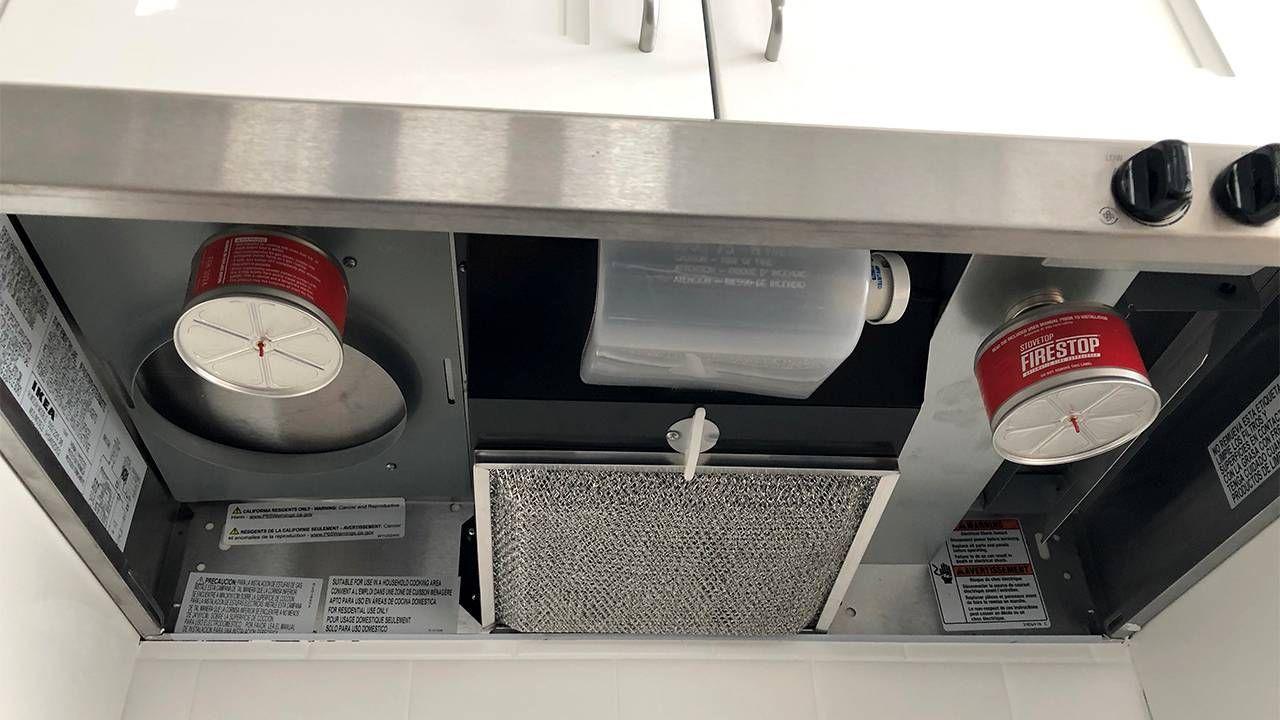Fire Extinguisher Dementia Apartment Inside